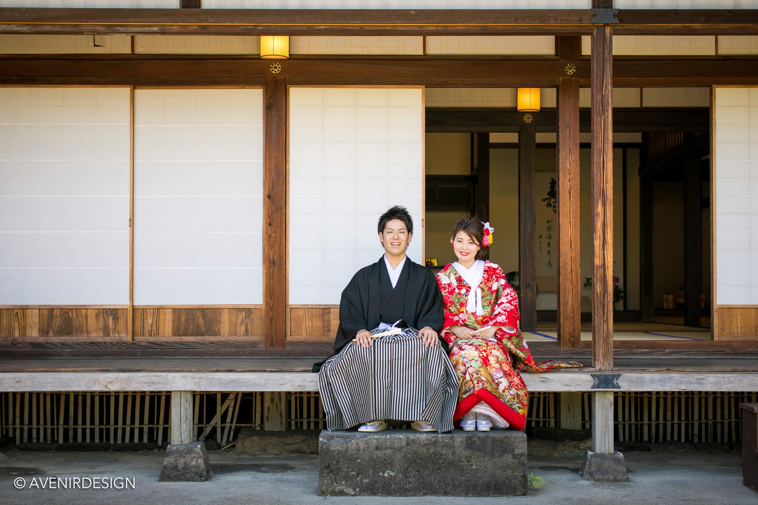 和装前撮り写真|熊本県南関町