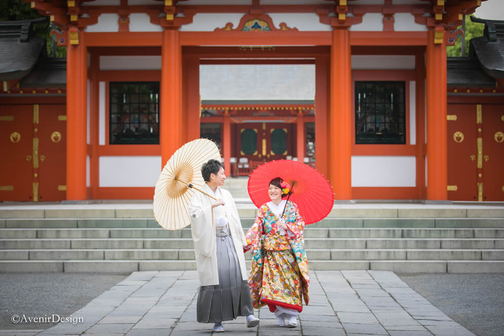 和装前撮りでオススメしたい熊本の神社【藤崎八旛宮】