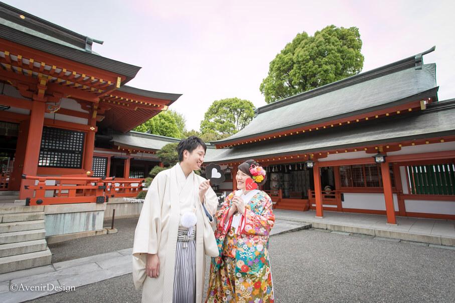 藤崎八旛宮|和装前撮り写真