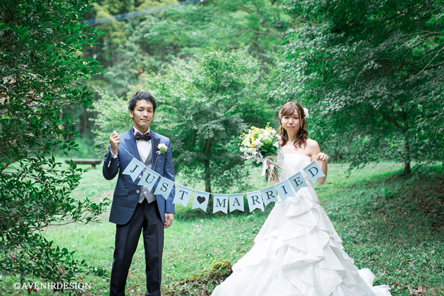 立田山|ウェディングフォト|ドレス