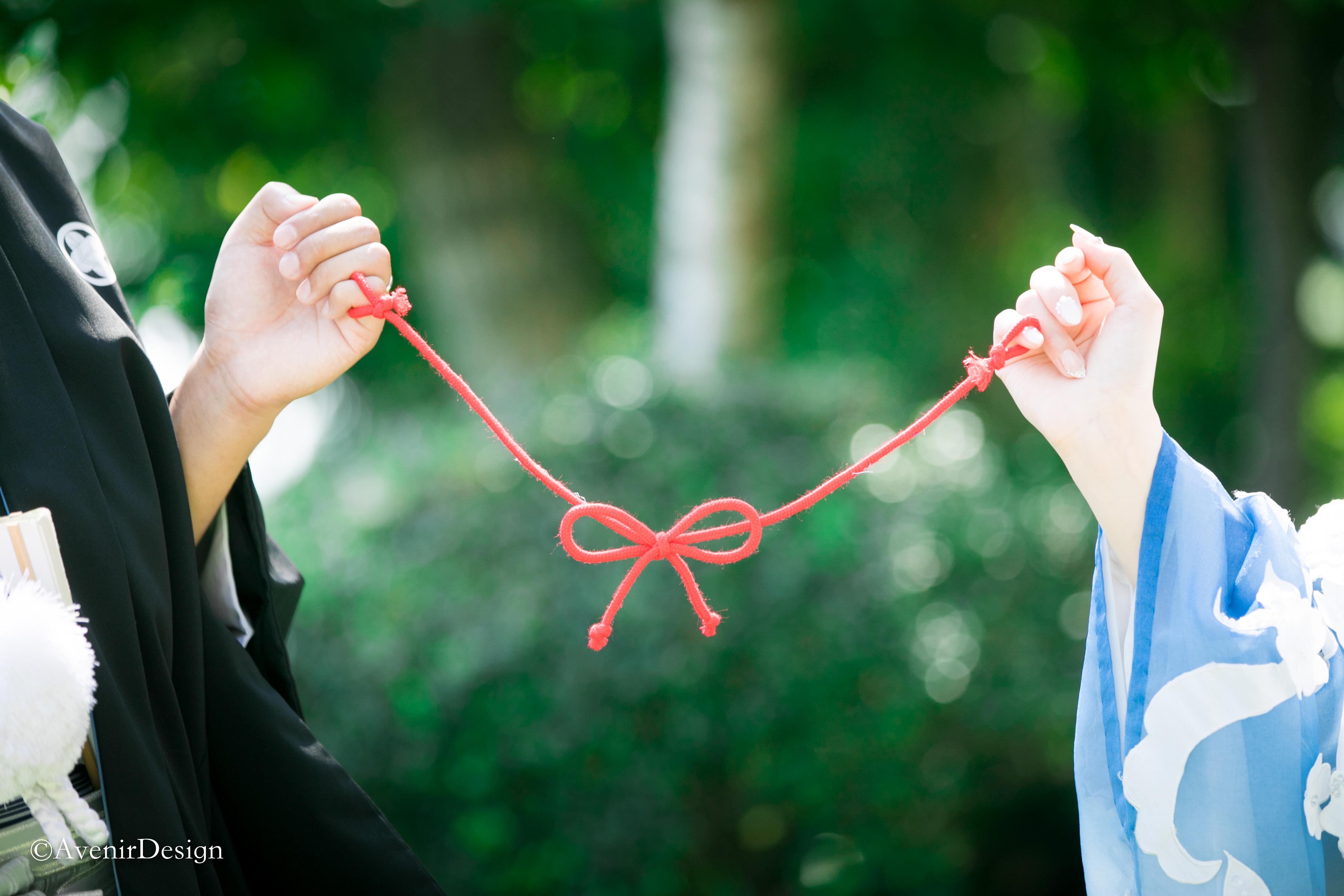【熊本】武蔵塚公園で和装前撮り|和の情緒豊かにウェディングフォト