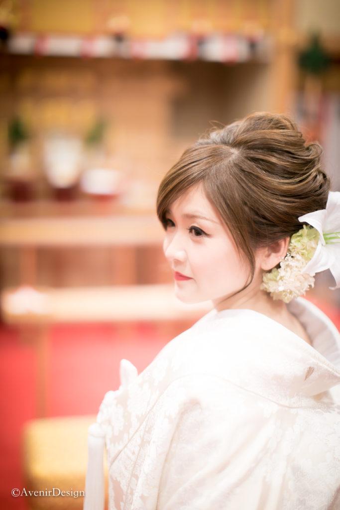 熊本|結婚式場の和装前撮り写真