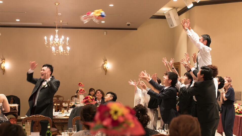 ブライダルフォト|結婚式|ブーケトス