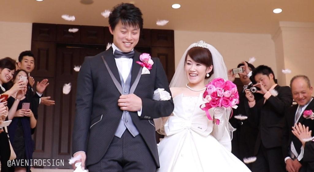 結婚式スナップ写真