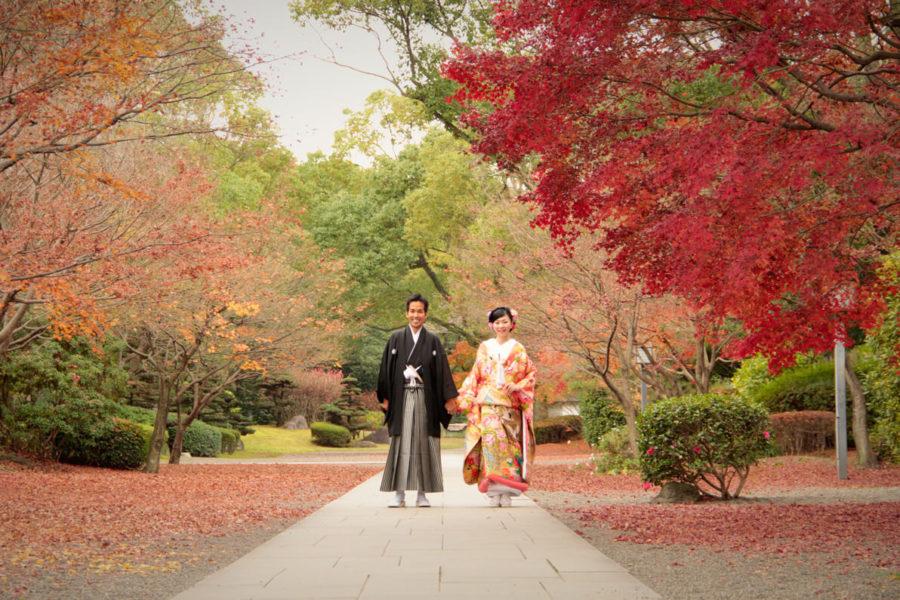 【熊本】細川刑部邸で和装前撮り|日本の四季を彩る人気スポット