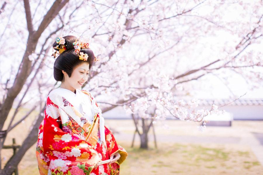 【玉名・荒尾】蛇ヶ谷公園で和装前撮り|県内屈指の桜の名所