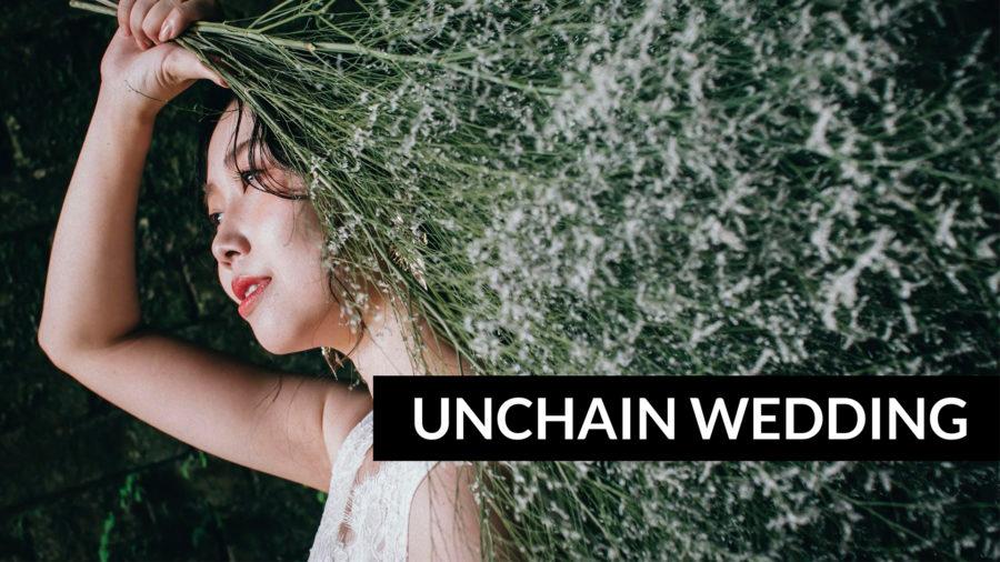 熊本のウェディングフォトに新しいプラン登場します|UNCHAIN WEDDING